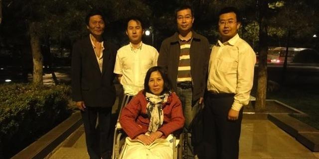 China sentencia a activista discapacitada