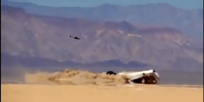 VIDEO: Discovery Channel estrella avión en frontera mexicana