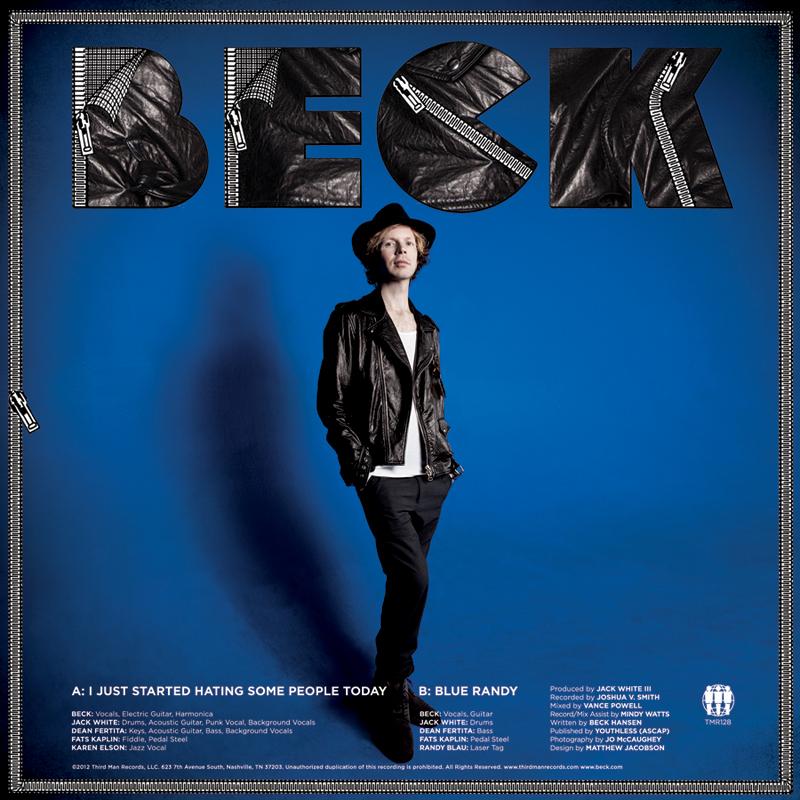 Beck y Jack White colaboran en nuevo sencillo