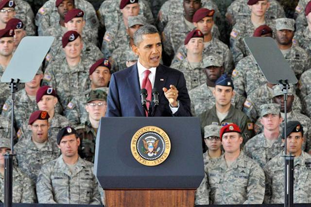 Obama planea retirar al ejercito hasta el 2014