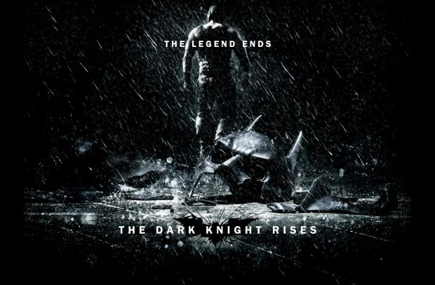Se parte del poster de The Dark Knight Rises