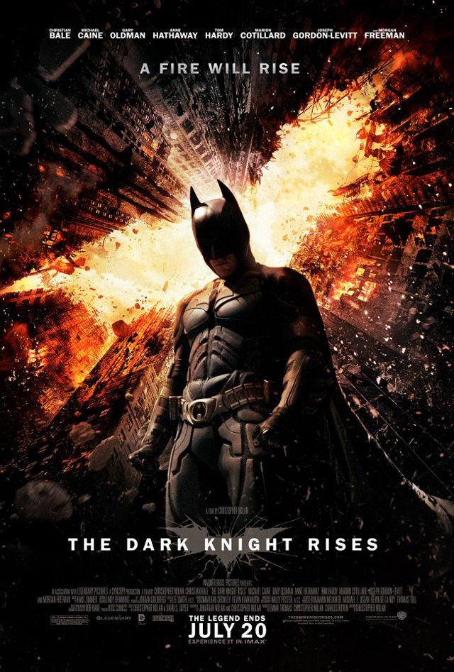¡Nuevo poster de The Dark Knight Rises!