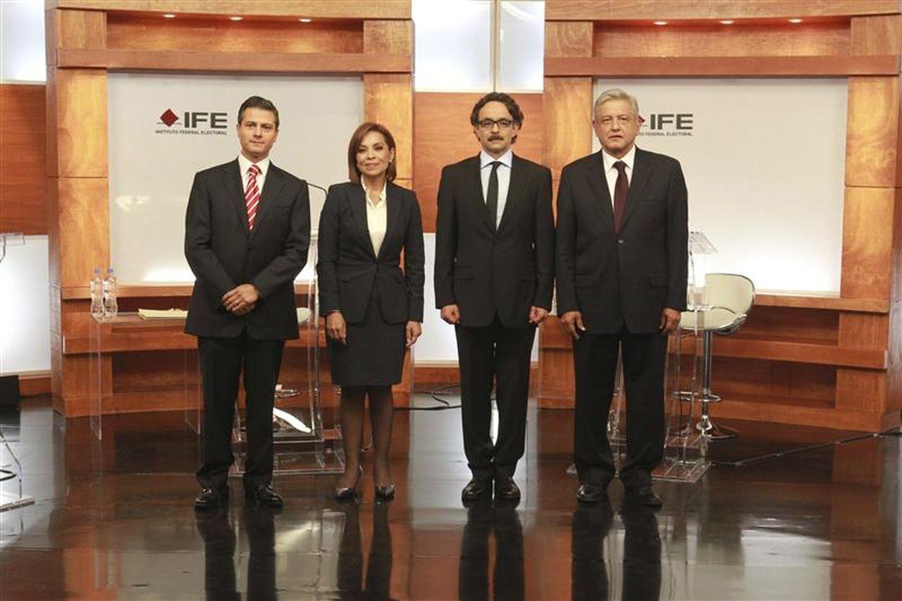 Por si no lo viste, aquí está todo el debate presidencial...