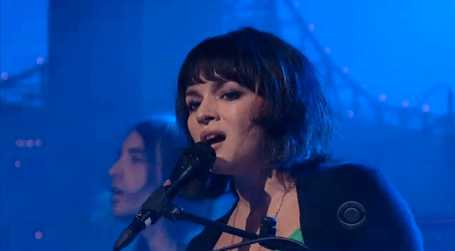 Video: Norah Jones en el show de David Letterman