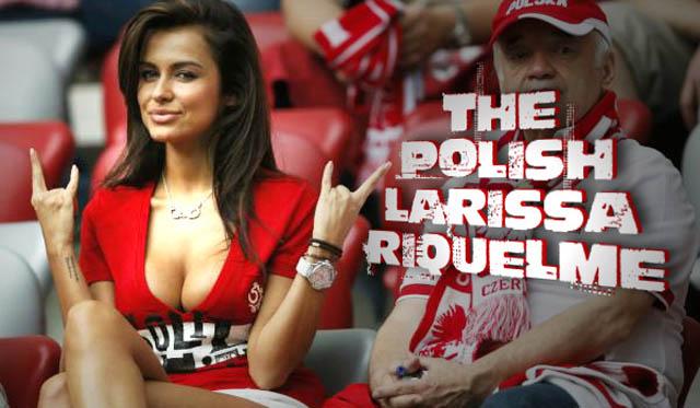 La Larissa Riquelme de la Euro 2012