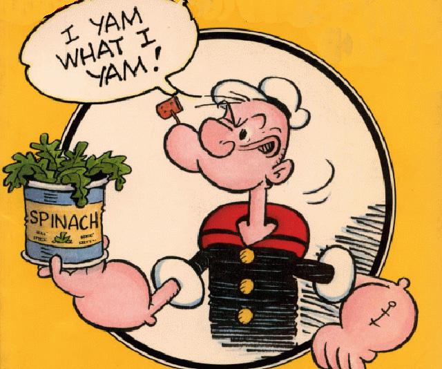 Popeye tenía razón