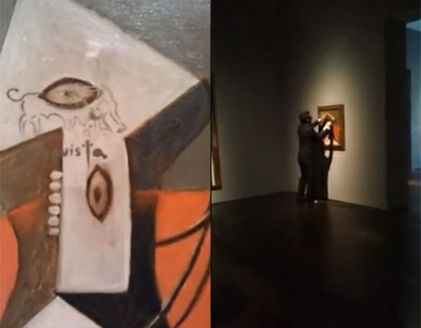 Vándalo estropea cuadro de Picasso,