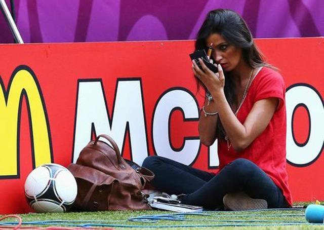 El #EpicFail de Sara Carbonero en la Euro 2012