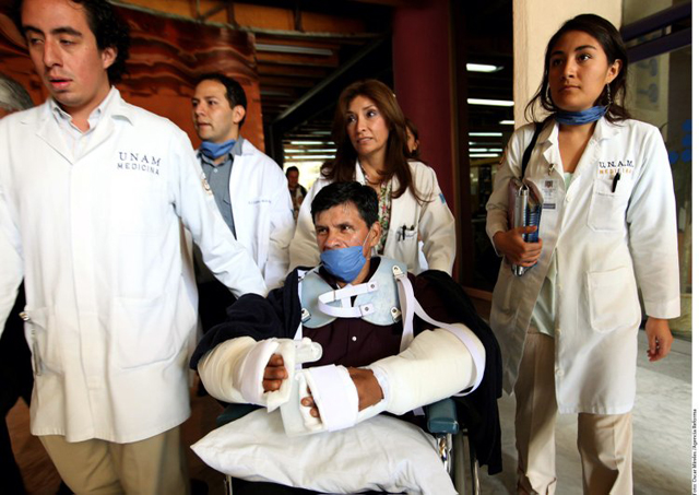 Y en la imagen del día: México logra el primer trasplante de brazos