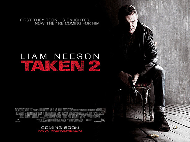 20th Century Fox presenta tercer trailer de Taken 2