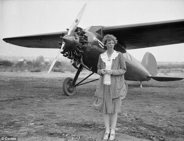 Amelia Earhart en el nuevo Doodle de Google