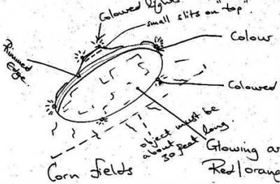 En GB revelan expedientes secretos sobre Ovnis