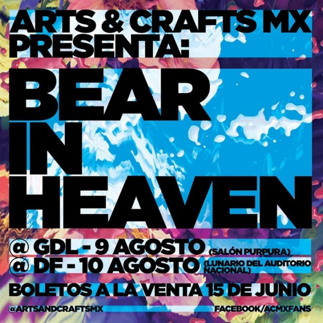 Bear In Heaven México 2012