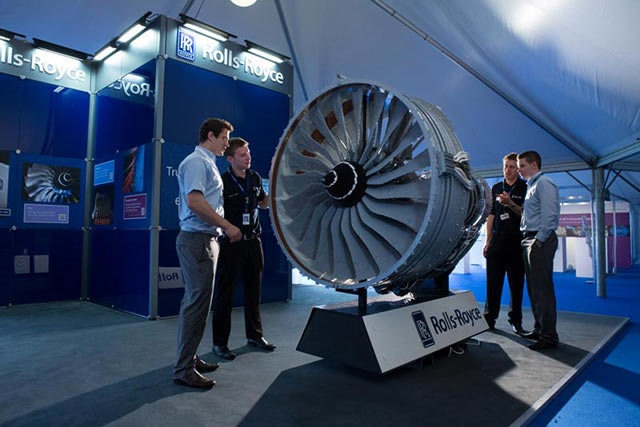 Se construye el primer motor de avión con Lego