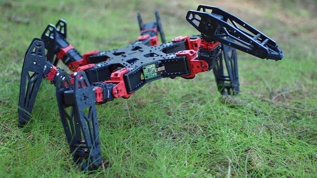 Conoce al impresionante (y terrorífico) robot araña