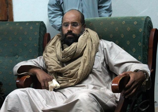 Hijo de Gadafi irá a juicio