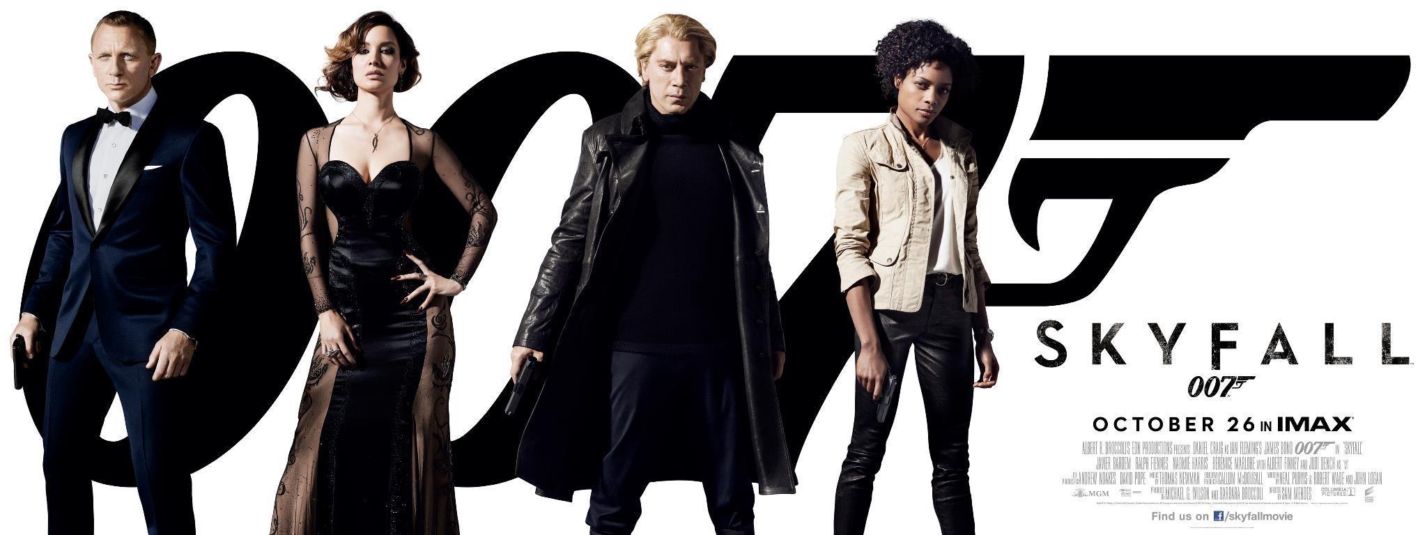 James Bond y nuevos personajes en los últimos posters de Skyfall
