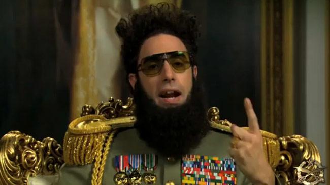 El Dictador se muestra muy cariñoso con una cabra