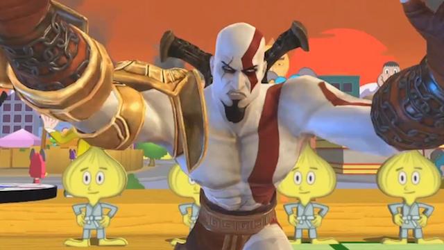 Mira a Kratos y Radec en dos nuevos videos de PlayStation All-Stars Battle Royale
