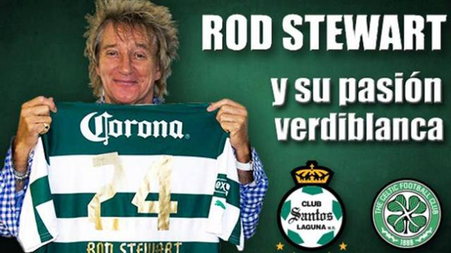 ¿Rod Stewart le va a Santos?
