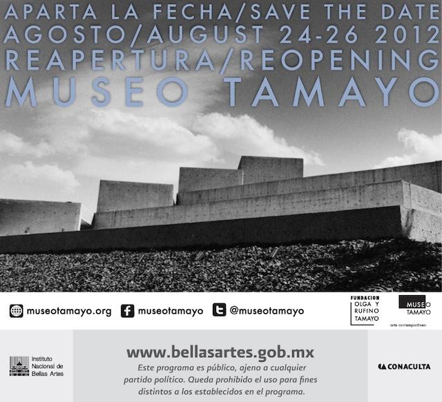 Reapertura Museo Tamayo
