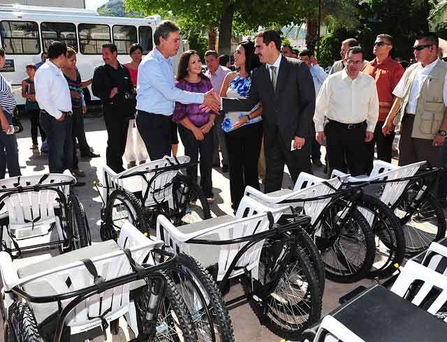 Estas son las 'sillas de ruedas' que entregó el DIF en Sonora
