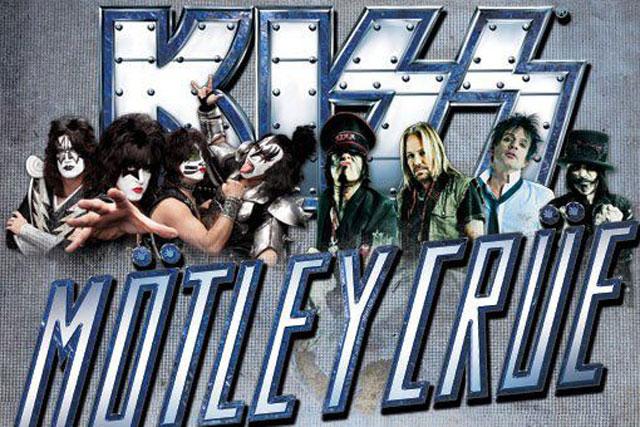 ¡Gana boletos para el concierto de KISS y Mötley Crüe!