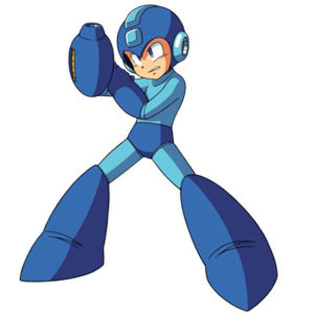 Y con ustedes... ¡la sudadera de Megaman!