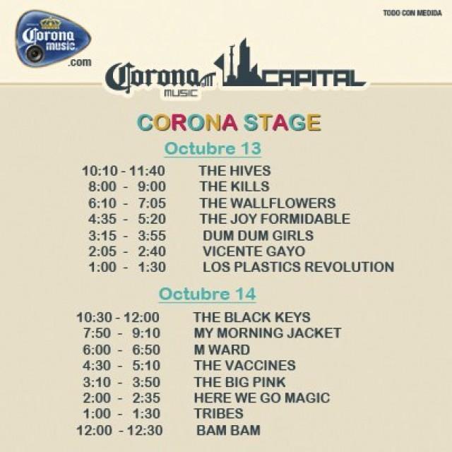 corona stage