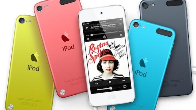 Y con ustedes... los nuevos iPods