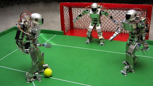 México es campeón mundial en futbol (robótico)