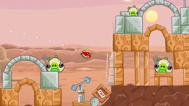 Así se juega Angry Birds Star Wars