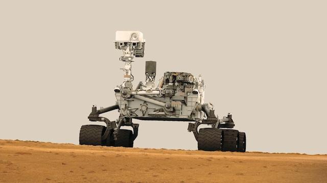 Curiosity hace su primer check-in en territorio marciano