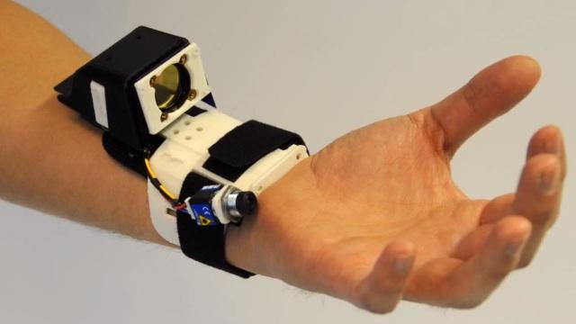 ¿Un Kinect con forma de pulsera?