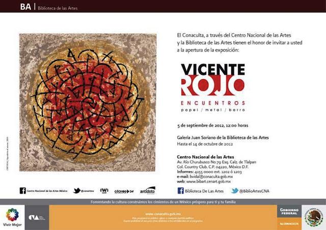 Vicente Rojo: Encuentros