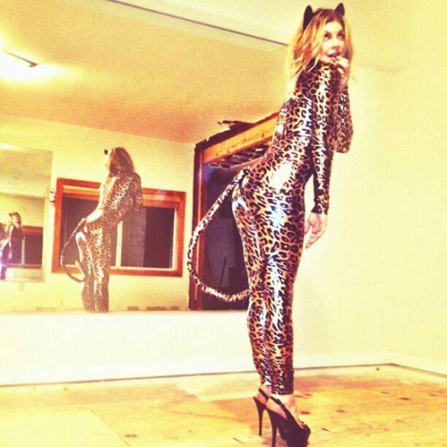 Y ahora es Fergie quien nos muestra su disfraz pa´l Halloween