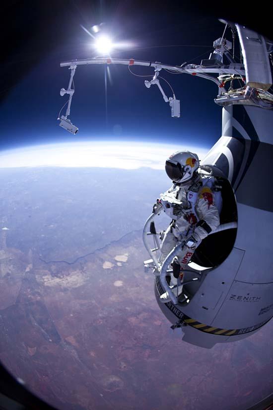 ¿Qué records rompió el salto de Felix Baumgartner?