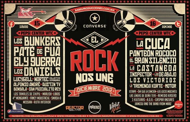 El Rock nos Une, 2 días de puro rock en el Pepsi Center