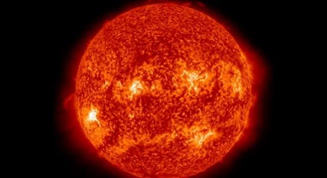 Así se vio la explosión solar que tocó a la Tierra
