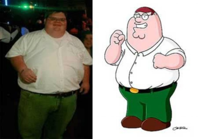 ¿Son o se parecen? Personas igualitas a dibujos animados