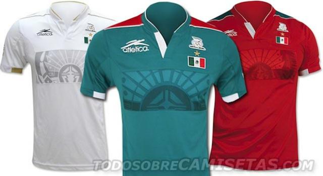 Aquí lo tienen: el jersey conmemorativo de México por el oro olímpico
