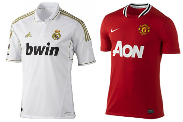 Manchester United y Real Madrid, los que más venden camisetas en el mundo
