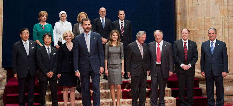 Y los ganadores del Premio Príncipe de Asturias 2012 son...