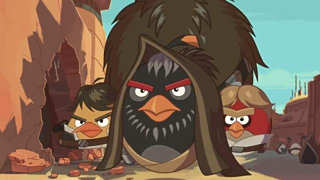 Angry Birds Star Wars llega junto con un corto de animación