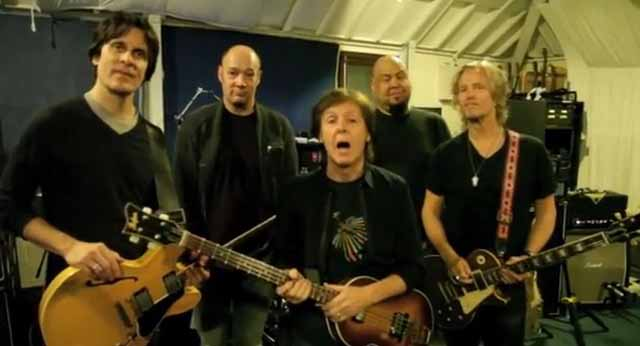 Video: Paul McCartney le va a Obama