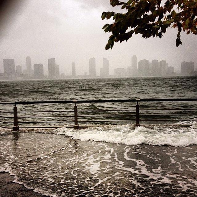 La furia de Sandy en fotos y videos