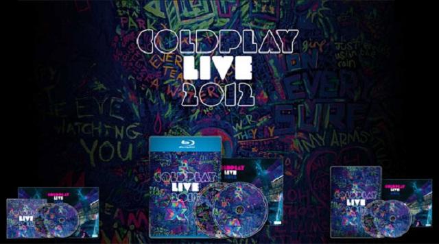 Echale un ojo al primer adelanto del DVD en  vivo de Coldplay