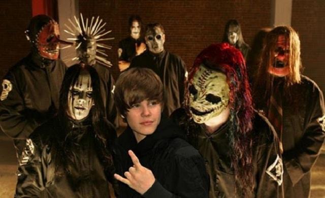 WTF?!?! Posible colaboración entre Slipknot y Justin Bieber