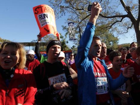 Miles participan en Maratón