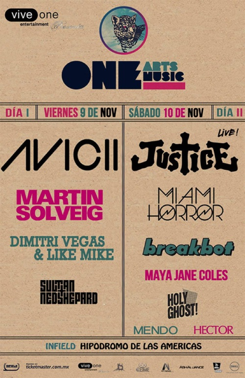 One Arts + Music Festival: así fue el segundo día... ¡y se hizo Justicia!